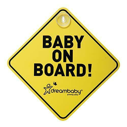 Baby On Board Car Sign (High Vis)